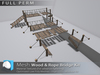 "[Prim 3D] - Wood & Rope Bridge Kit ""FULL PERM"""