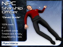 NPC Starship Officer - Dude1 Dead