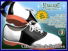 R(S)W Saddle Shoes 2 - Classic Black