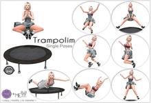 Trampolim - PURPLE POSES+ME