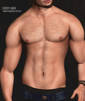 Volkstone Body Hair 6styles [Naturals] - Omega Advanced Applier