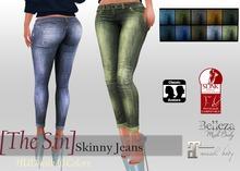 [The Sin] Skinny Jeans FITMESH - Slink - Maitreya - Belleza