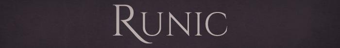 New runic banner
