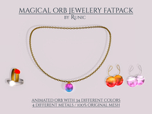 .: Runic :. Magical Orb Jewellery Set Fatpack