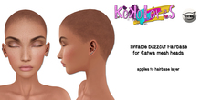 [KoKoLoReS] Tintable buzzcut Hairbase/Catwa mesh heads