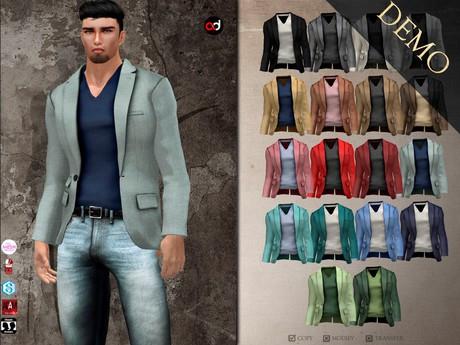 A&D Clothing - Blazer -Daniel-  DEMOs