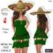 ::DBL:: Mexican Hat Dance Dress (Fitted/Slink/Belleza/Maitreya)