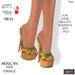 ::DBL:: Mexican Hat Dance HIGH Heels (Slink, Maitreya, Belleza)