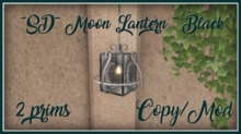 ~SD~ Moon Lantern ~  Black