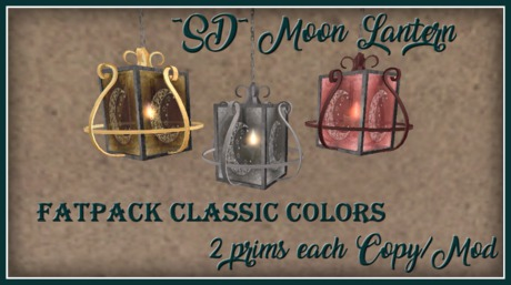 ~SD~ Moon Lantern ~  Classic Colors FATPACK