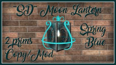 ~SD~ Moon Lantern ~  Spring Blue