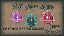 ~SD~ Moon Lantern ~  Spring Colors FATPACK