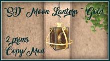 ~SD~ Moon Lantern ~ Gold