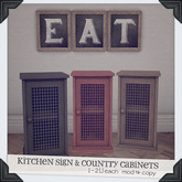 [Brixley] country kitchen decor