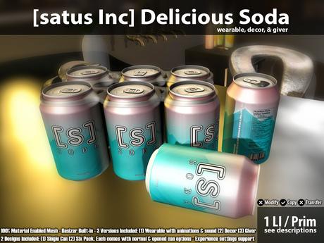 [satus Inc] Delicious Soda