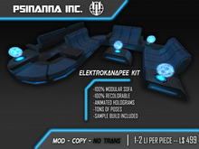 PsiNanna, Inc. ElektroKanapee Modular Sofa Kit (BOX)