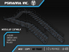 PsiNanna, Inc. Modular Catwalks Set