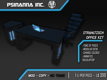 PsiNanna, Inc. Strahltisch Office / Desk Kit