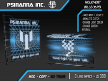 PsiNanna, Inc. HoloVert Customizable Billboard