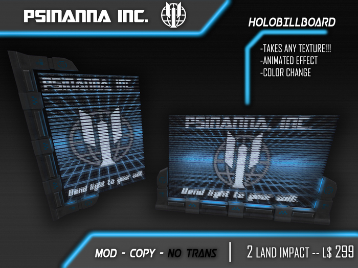 PsiNanna, Inc. Customizable HoloBillboard