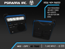 PsiNanna, Inc. VEGA 404 Radio