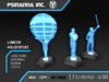 PsiNanna, Inc. LumIcon 3D Holo-Statue Set