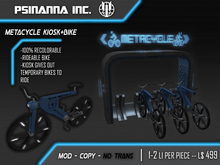 PsiNanna, Inc. MetaCycle Bike and Rental Rack (BOX)