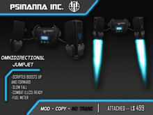 PsiNanna, Inc. Omnidirectional Jumpjet