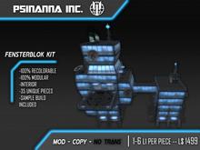 PsiNanna, Inc. FensterBlok Modular Building Kit