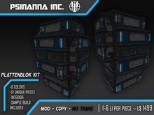 PsiNanna, Inc. PlattenBlok Modular Building Kit