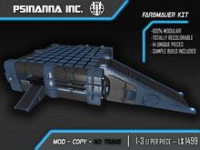 PsiNanna, Inc. Farbmauer Construction Kit