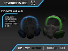 PsiNanna, Inc. Nichtgift Gas Mask