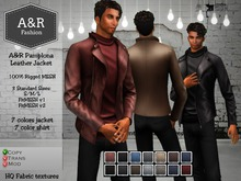 A&R Pamplona Leather Jacket