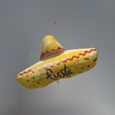Sparkling Fiesta Sombrero Mesh Tip Jar