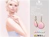 . BLUSH . Teardrop Earrings - 6 Colors - 6 Metals