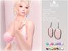 . BLUSH . Avalon Earrings - 7 Colors - 7 Metals