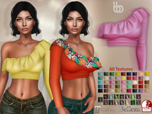 Bens Boutique - Lykie Ruffle Top - Hud Driven