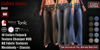 GAS [Ladies Flared Jeans - All 10 Colors w/HUD FATPACK] Demo