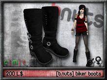 [b.nuts] biker boots