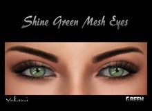 Yokami~ Shine Green Mesh Eyes