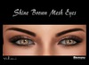 Yokami~Shine Brown Mesh Eyes