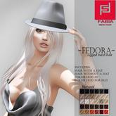 -FABIA- Mesh Hair  <Fedora> Natural Tones