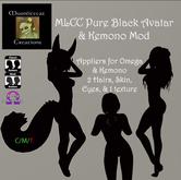 MLCC Pure Black Avatar & Kemono Mod Box