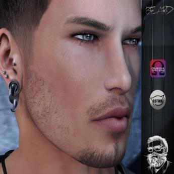 Second Life Marketplace Cdc Beard Gift 05 Men Catwa Omega