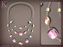 (Kunglers) miele necklace - Quartz