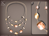 (Kunglers) miele necklace - Crystal
