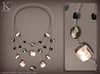 (Kunglers) miele necklace - Onyx