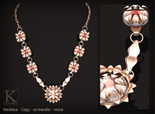 (Kunglers) Silvia necklace - Jasper