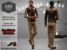 A&R Pamplona Light Brown Set GIFT