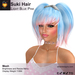 A&A Suki Hair Light Blue Pink (FUNCTIONAL DEMO). Womens Mesh Pigtails